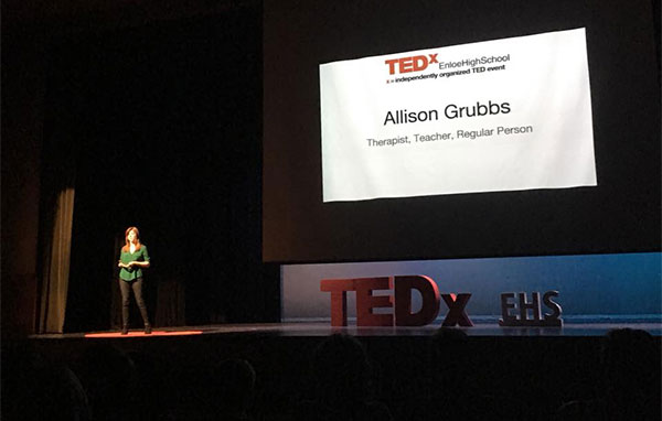 TED Talk with Allison Grubbs